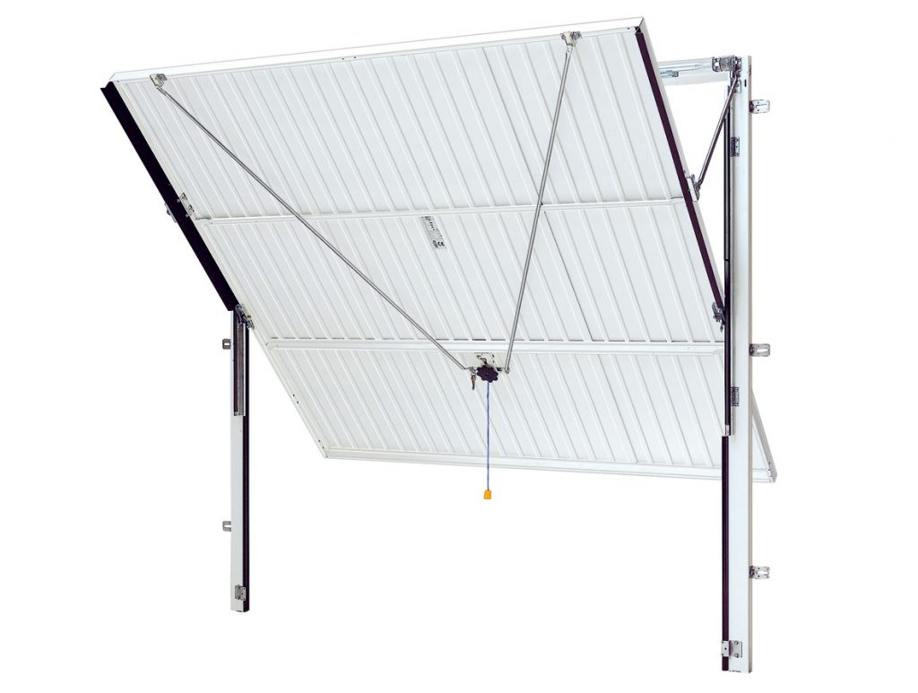 Up and over - canopy door