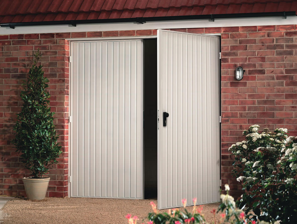 Side Hinged Garage Doors Garagedoors