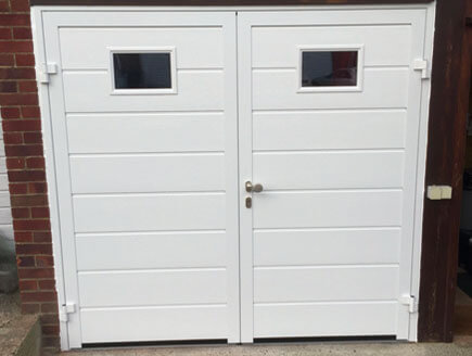 Hormann - Insulated side hinged doors